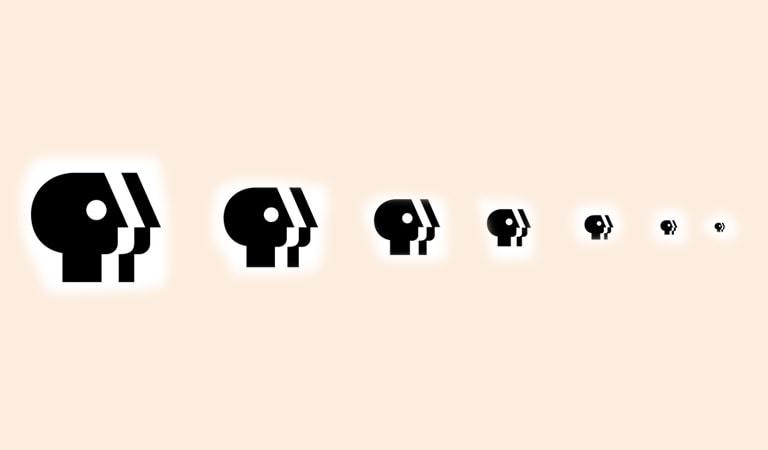 طراحی لوگو - سایز لوگو