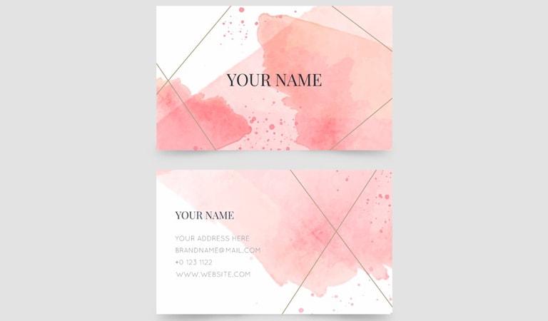 طراحی کارت ویزیت - خوانایی کارت ویزیت