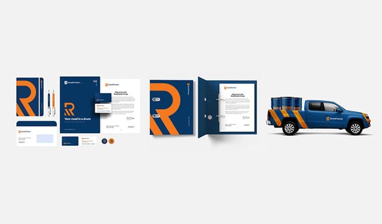 طراحی لوگو - قرار دادن لوگو