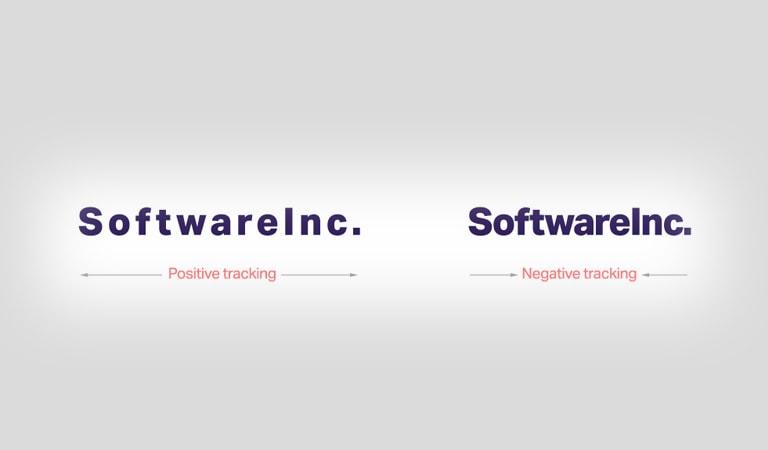 طراحی لوگو - استفاده از ردیابی منفی یا مثبت