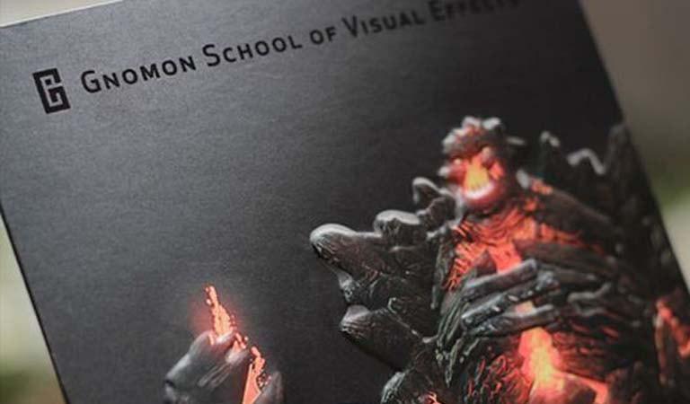 طراحی فولدر - مدرسه گنومون در هالیوود