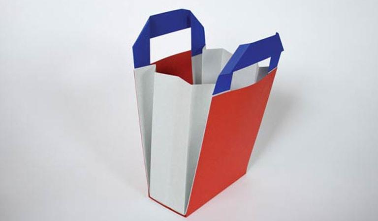 طراحی ساک دستی - طراحی کیف خرید RUDI