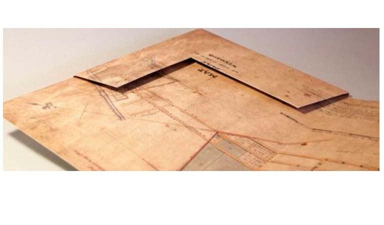 طراحی فولدر - پوشه A4 ارائه برای موزه منطقهای هاوکسبوری