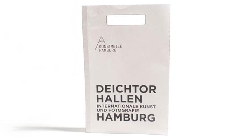 طراحی ساک دستی - بستهبندی هامبورگ