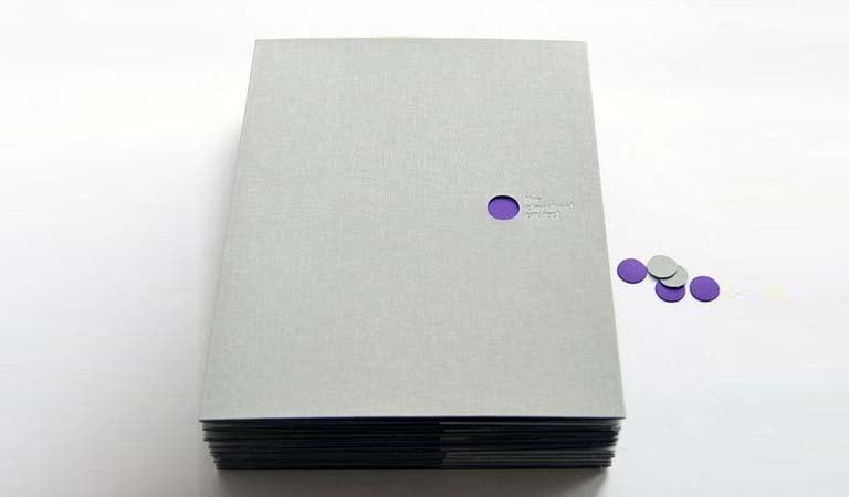 طراحی فولدر - پوشه کیت مطبوعاتی