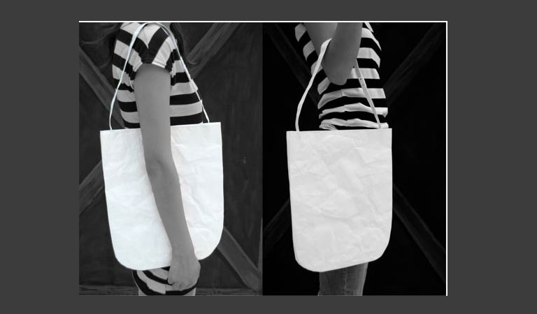 طراحی ساک دستی - کیفهای کاغذی Audrey Q