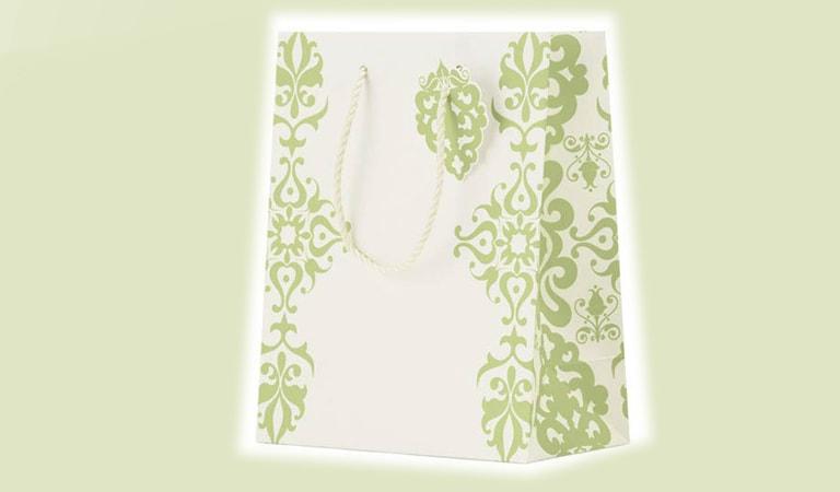 طراحی ساک دستی - کیسههای کاغذی سفارش