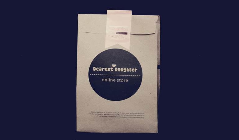طراحی ساک دستی - کیسههای کاغذی طبیعی