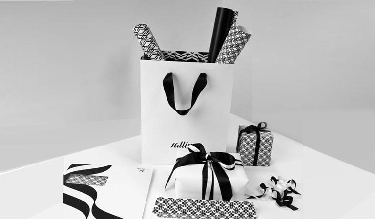 طراحی ساک دستی - ساکدستی و کاغذ بستهبندی Salling