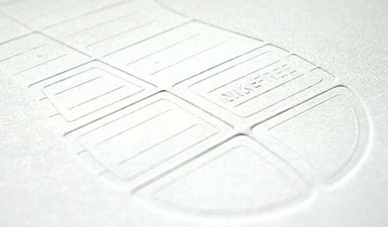 طراحی فولدر - کیت رسانه Nike Free