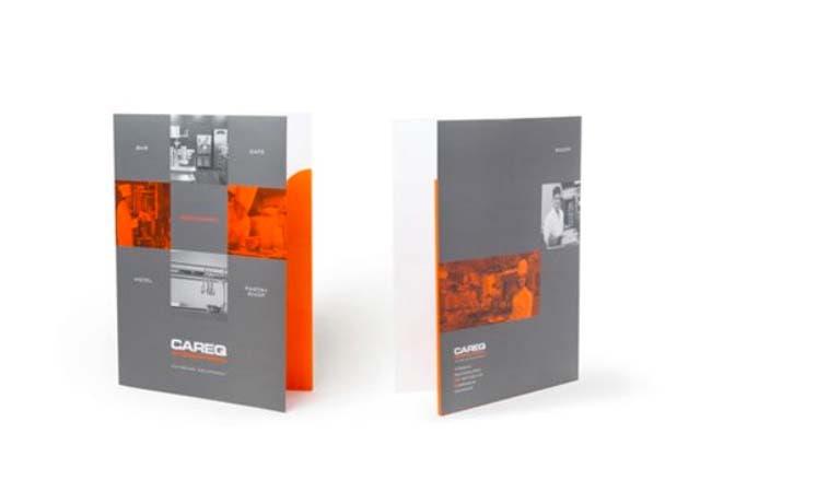 طراحی فولدر - پوشه تجهیزات پذیرایی Careq
