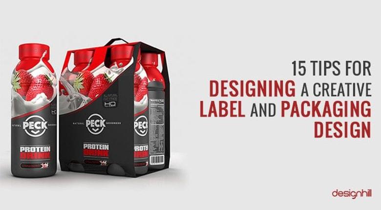 طراحی لیبل تجاری با ۱۵ نکته کاربردی