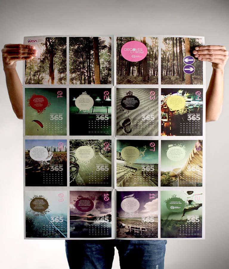 طراحی تقویم - تصاویر را با دقت انتخاب کنید
