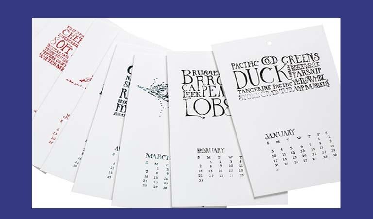 طراحی تقویم - انتخاب یک روش چاپ