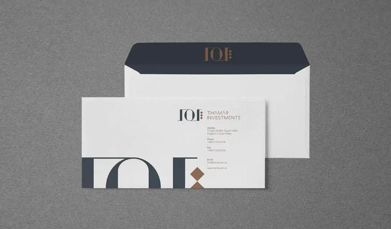 طراحی پاکت نامه - عناصر لوگوی خود را گسترش دهید