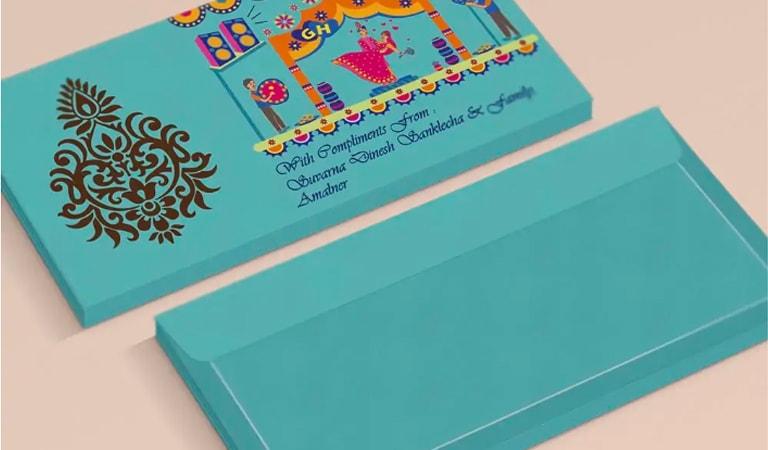 طراحی پاکت نامه - از تصاویر چشم نواز استفاده کنید