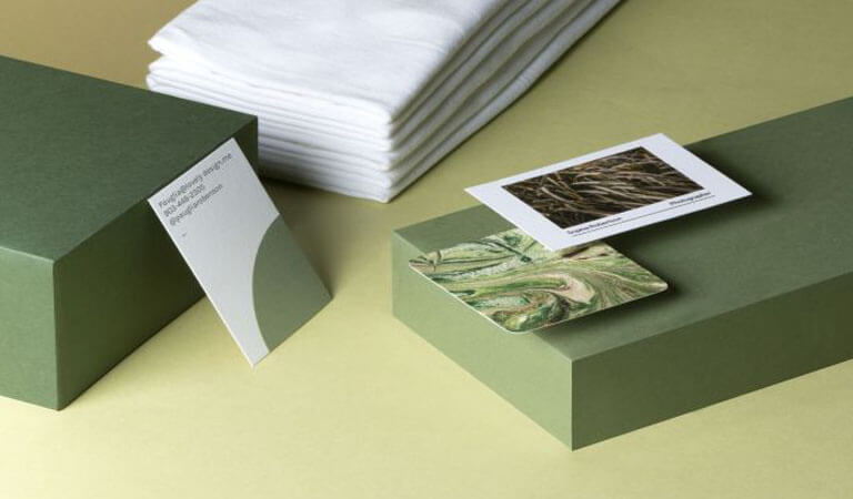 کارت ویزیت خاص - کارتهای ویزیت پنبهای