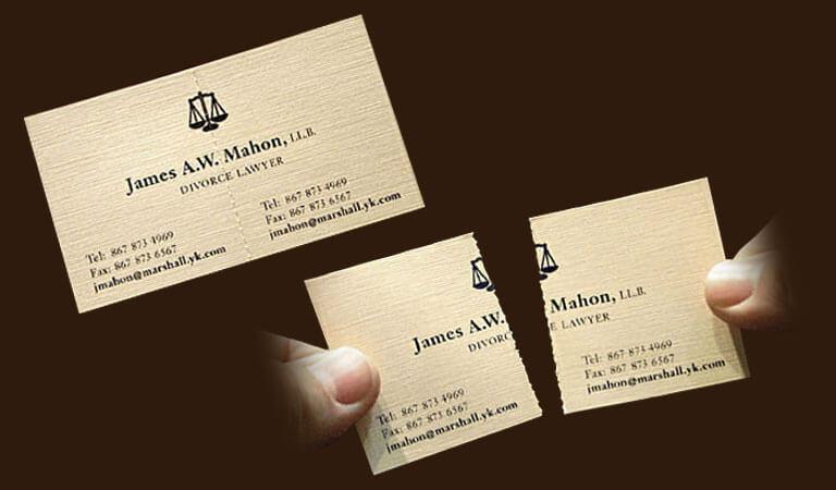کارت ویزیت وکالت - یک عنصر منحصر به فرد برای تبلیغ برند خود اضافه کنید