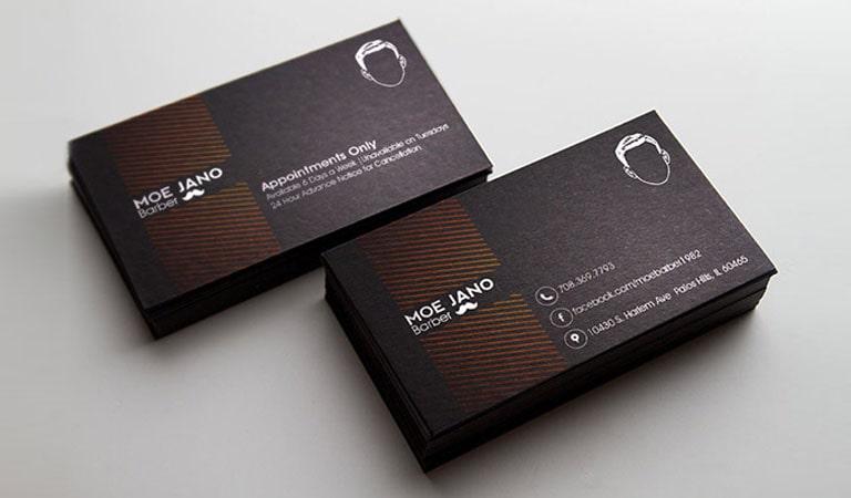 کارت ویزیت آرایشگاه مردانه - طراحی منحصر به فرد