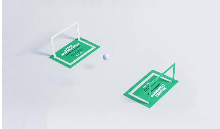 کارت ویزیت خاص - -کارتهای ویزیت مربوط به بازی