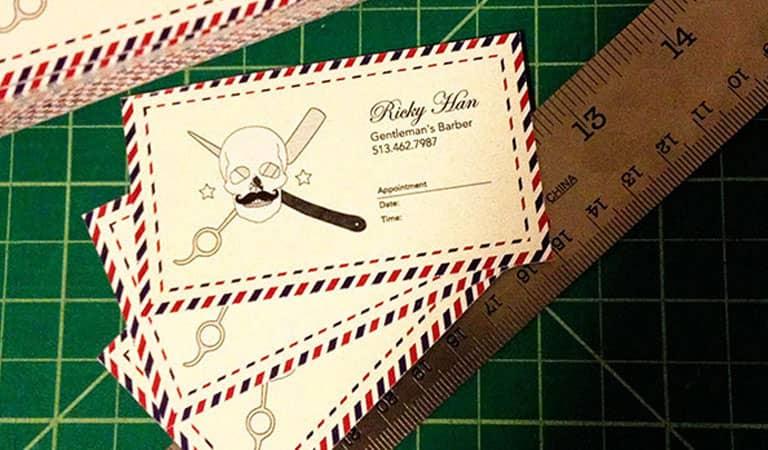 کارت ویزیت آرایشگاه مردانه - آرایشگر جنتلمن