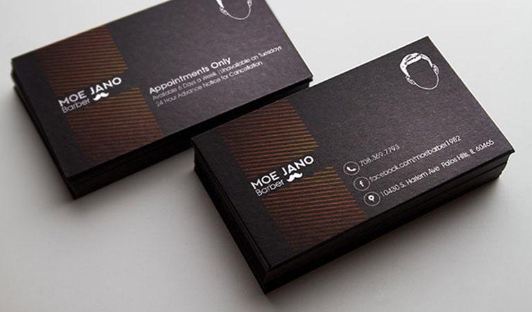 کارت ویزیت آرایشگاه مردانه - آرایشگر موه جانو