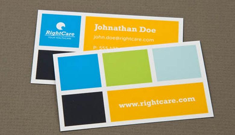 کارت ویزیت پزشکی - کارت ویزیت Right Care