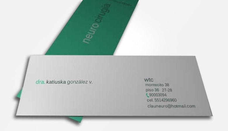 کارت ویزیت پزشکی - کارت ویزیت Neuro