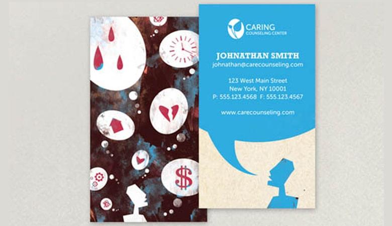 کارت ویزیت پزشکی - کارت ویزیت جاناتان اسمیت
