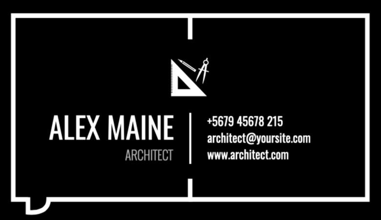 کارت ویزیت املاک - کارتهای ویزیت معمار