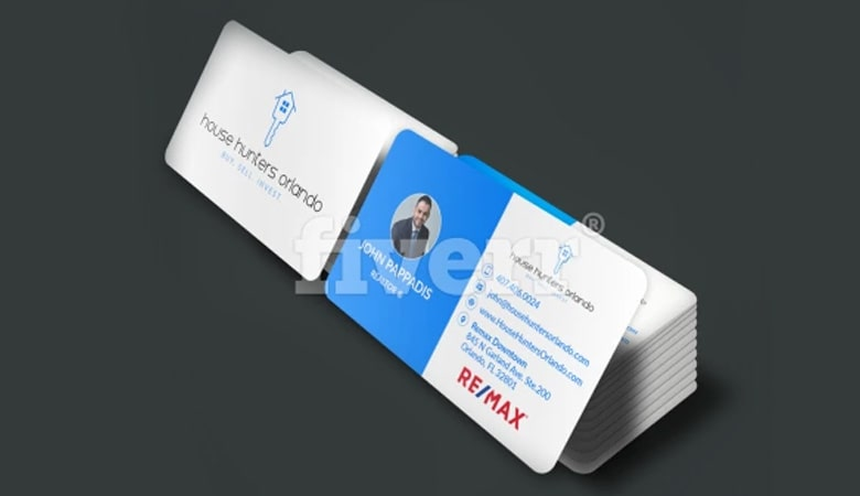 کارت ویزیت املاک - کارت ویزیت یک طراح گرافیک با استعداد