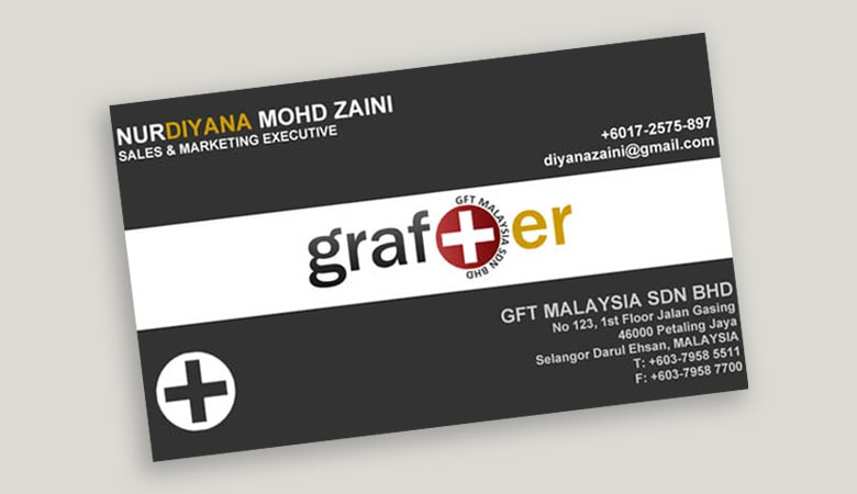 کارت ویزیت پزشکی - کارت ویزتی با لوگوی پیچیده