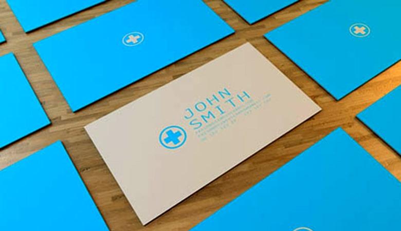 کارت ویزیت پزشکی - کارت ویزیت مینیمال