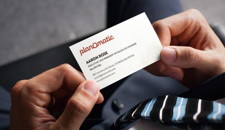 کارت ویزیت املاک - Planomatic