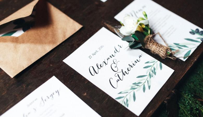 طراحی کارت دعوت - یک حس شخصی را در کارت دعوت خود جای دهید