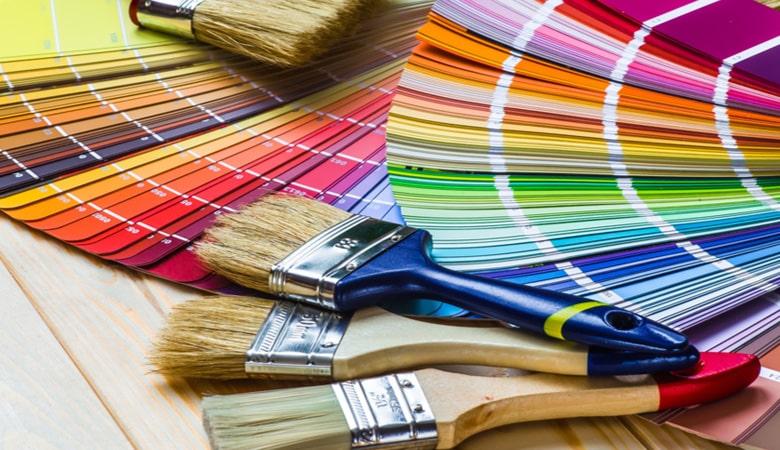 طراحی کارت دعوت - الگوی رنگ