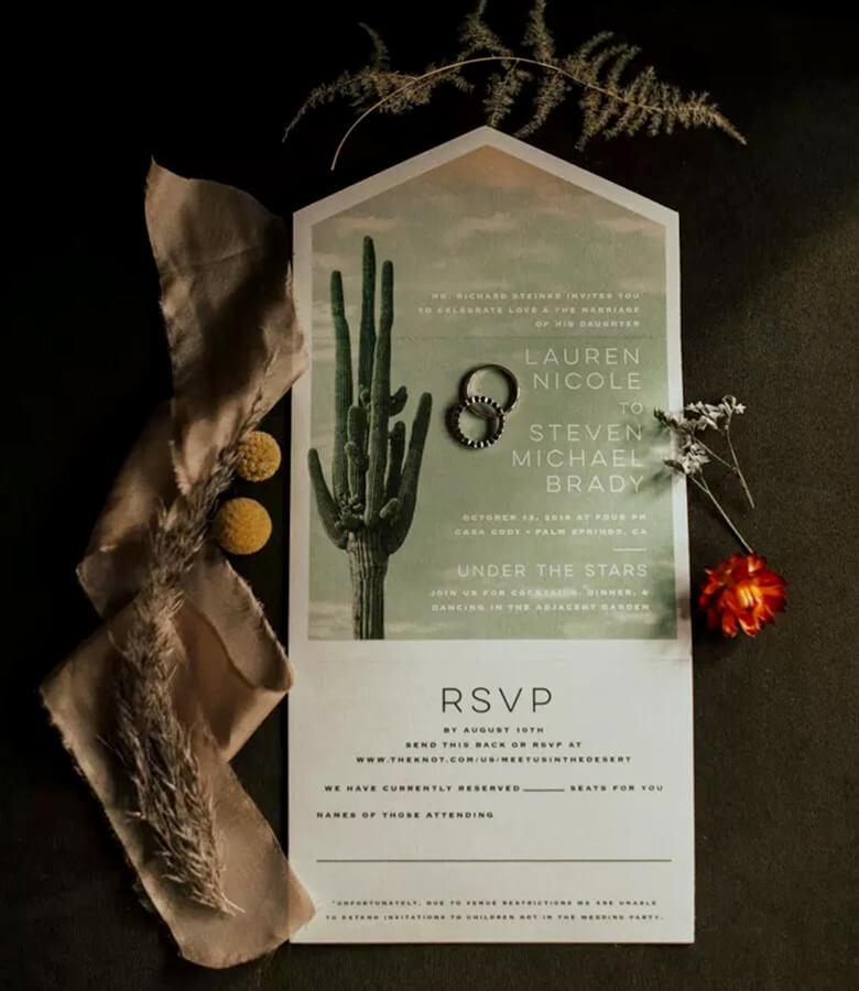 طراحی کارت عروسی - چاپ ایندی درست کنید