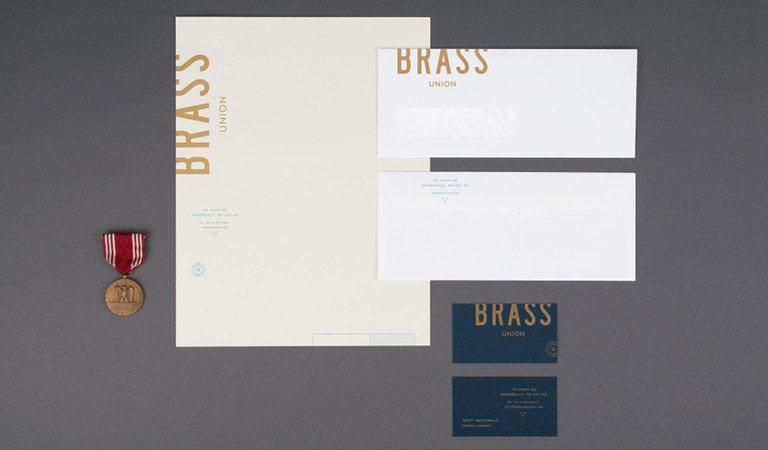 طراحی ست اداری - Brass Union