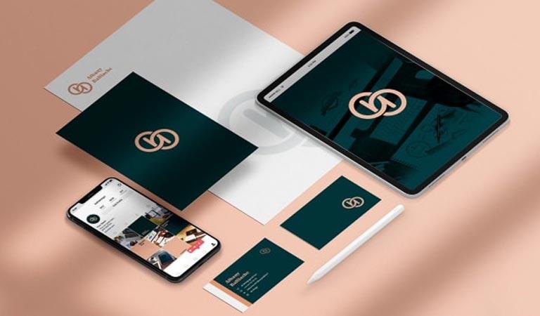 طراحی ست اداری - Marca personal، توسط آلبانی بالیاچه