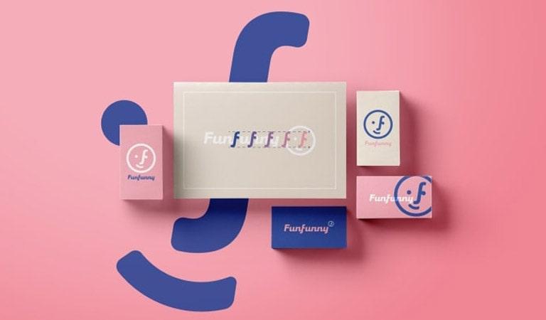 طراحی ست اداری - Funfunny، توسط جیلیان گومس
