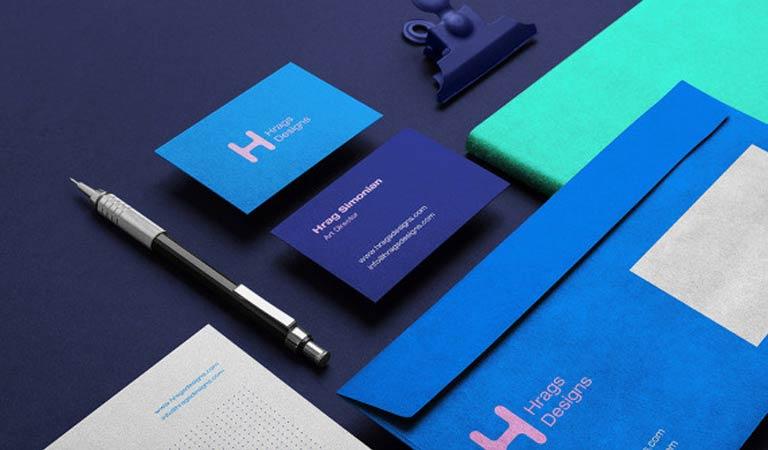 طراحی ست اداری - HragsDesigns Branding، توسط Hrag Simonian