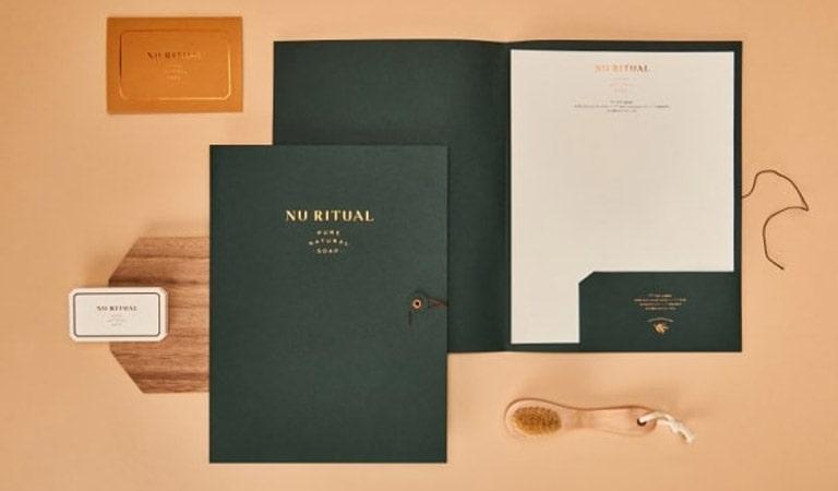 طراحی ست اداری - Nu Ritual،توسط Menta Branding