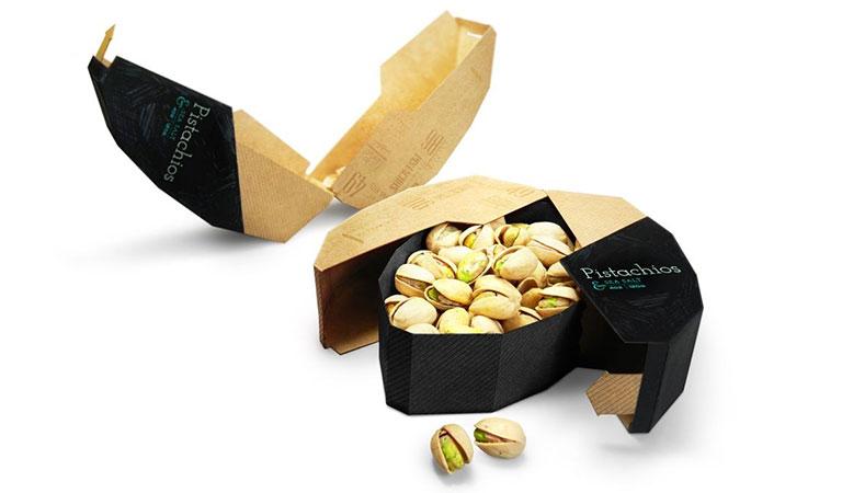 آجیل مایتی (Mighty Nuts)-طراحی بسته بندی