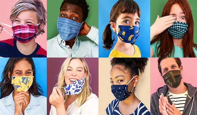 ماسکهای صورت - چاپ برچسب بهداشت و ایمنی