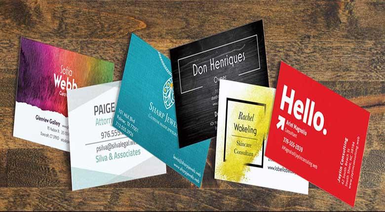 ایدههای طراحی کارت ویزیت برای صنایع مختلف