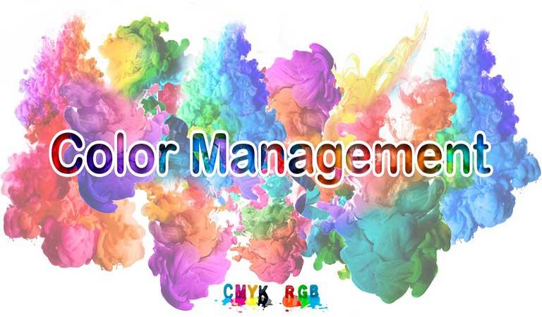 مدیریت رنگ - نحوه ی استفاده از رنگ و جوهر