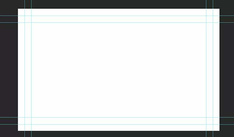 همه راهنماها در فتوشاپ - طراحی کارت ویزیت با فتوشاپ