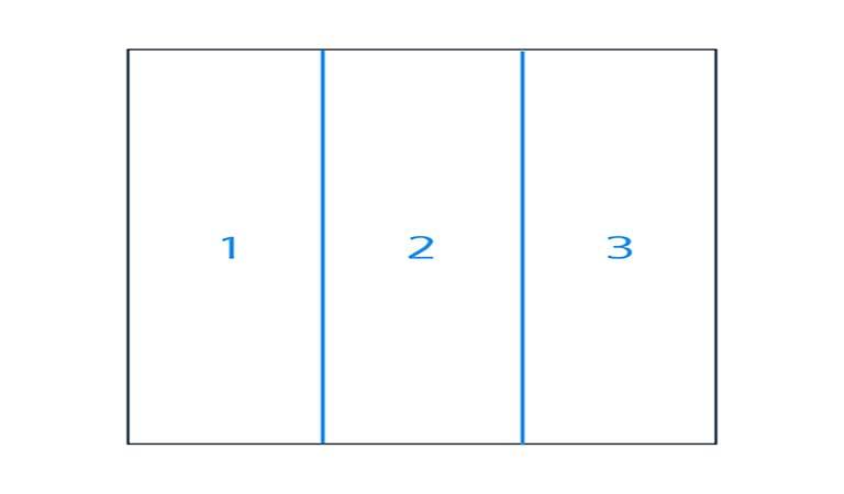 الگوی سربرگ تجاری خود را به ستون تقسیم کنید - طراحی آنلاین سربرگ
