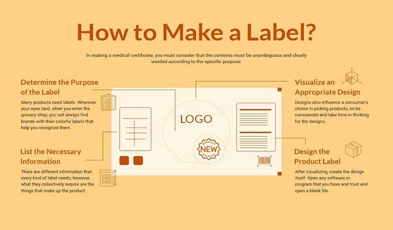 نحوه ساخت برچسب - طراحی آنلاین لیبل