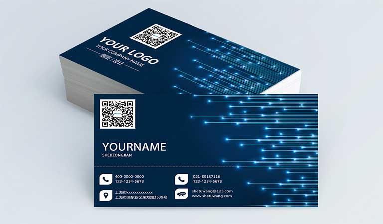 ایدههای مختلف برای طراحی - طراحی آنلاین کارت ویزیت